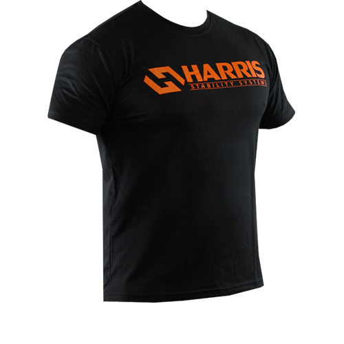 Orange Harris Cotton T-Shirt