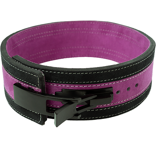 13mm Purple & Black Lever Belt