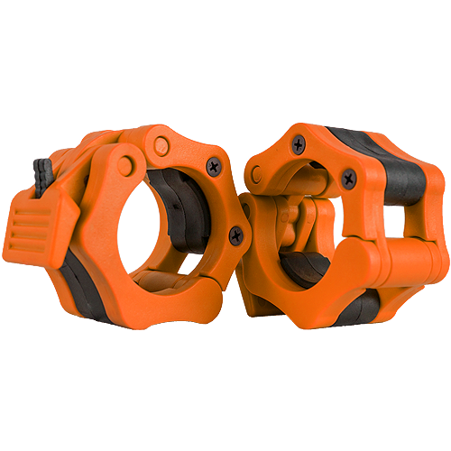 Barbell Lock Collar- ORANGE