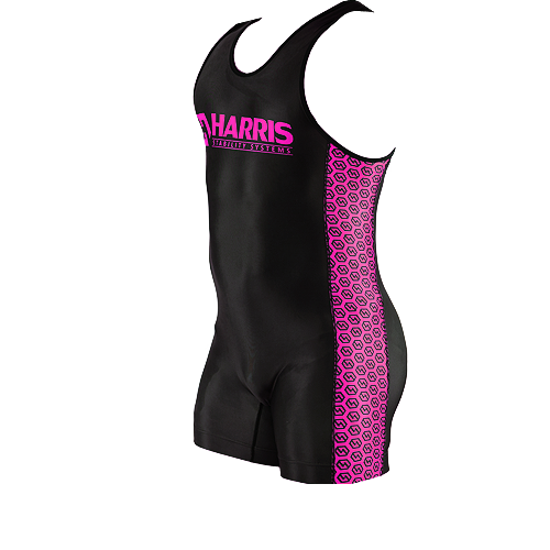 Harris Soft Suit- Pink Pattern