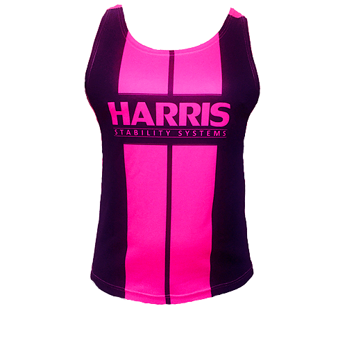 Harris Sublimation Gym Singlet - Pink [Size: XL]