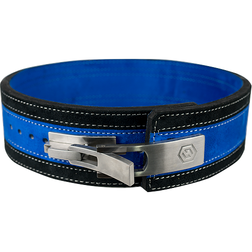 13mm Blue & Black Lever Belt