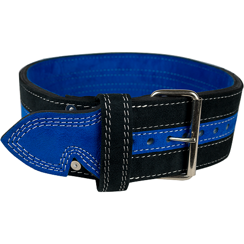 13mm Blue & Black Single Prong Belt