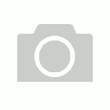 13mm White & Black Single Prong Belt [Size: XL]