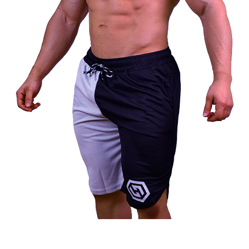 Harris Training Shorts- Grey & Black